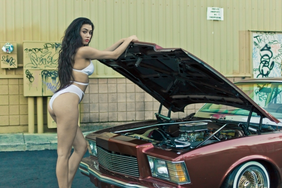 sphoto, sphotohi, sphotohawaii, hawaii, oahu, honolulu, model, lowrider, lowrider photography, car photography, model photography, gangsta, katie daly, timeless car club