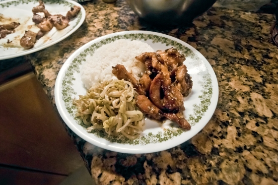 sphoto, sphotohi, sphotohawaii, hawaii, oahu, garlic chicken, garlic chicken recipe, chicken recipe, dinner recipe, local food, plate lunch, hawaii plate lunch, easy dinner, easy lunch